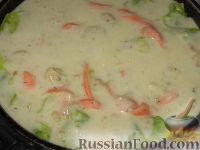 Фото приготовления рецепта: Пикантные капустные конвертики - шаг №8