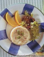 Фото к рецепту: Рыбное суфле с сыром
