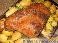 Фото к рецепту: Запеченная баранина