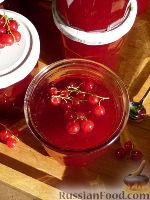 Фото к рецепту: Желе из красной смородины