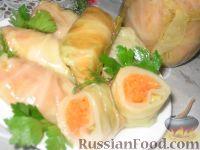 Фото к рецепту: Голубцы закусочные