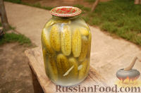 Фото приготовления рецепта: Рецепт консервации огурцов - шаг №3