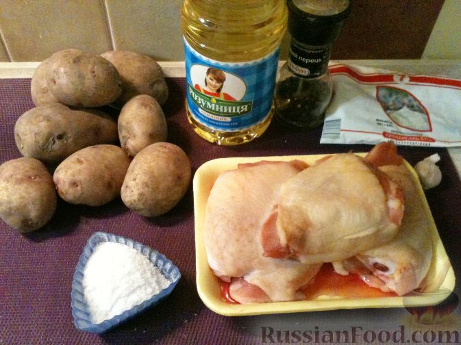 Приготовить картофель в сметане в мультиварке