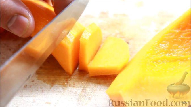 Фото приготовления рецепта: Цукаты из тыквы - шаг №2