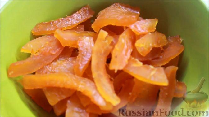 Фото приготовления рецепта: Цукаты из тыквы - шаг №8