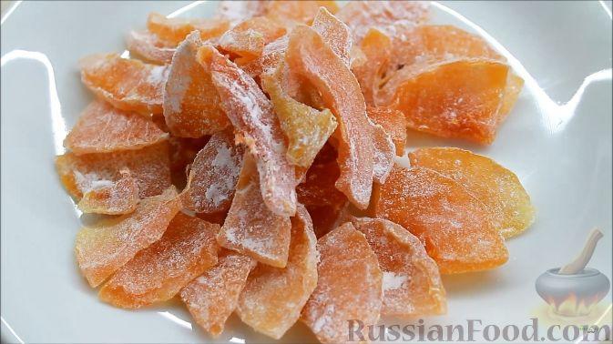 Фото приготовления рецепта: Цукаты из тыквы - шаг №9