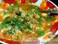 Фото к рецепту: Рыбный суп с гречкой