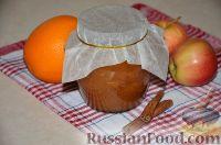 Фото к рецепту: Яблочно-апельсиновое варенье (на зиму)