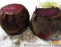 Фото к рецепту: Свекла, запеченная в соли с розмарином