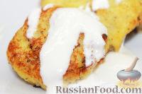 Фото к рецепту: Картофельные драники с творогом