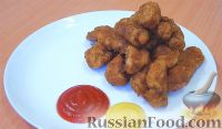 Фото к рецепту: Наггетсы куриные домашние