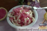 Фото к рецепту: Салат с кольраби