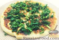 Фото к рецепту: Картофельные лепёшки с сыром и зеленью (на сковороде)