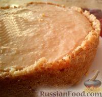 Фото к рецепту: Карамельный чизкейк без выпечки