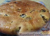 Фото к рецепту: Заливной пирог с мясом и грибами
