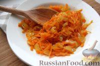 Фото к рецепту: Поджарка из лука и моркови