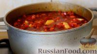 Фото приготовления рецепта: Бограч (венгерский гуляш по-закарпатски) - шаг №11