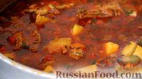 Фото приготовления рецепта: Бограч (венгерский гуляш по-закарпатски) - шаг №13