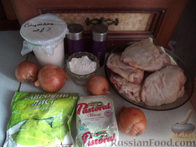 рецепт приготовления жаркого из курицы