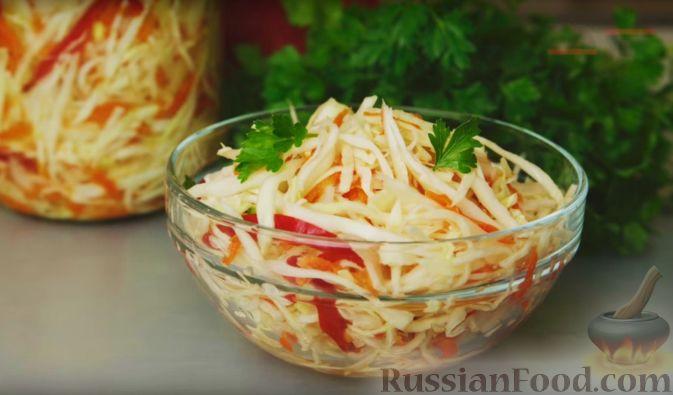 луком рецепт 17 кулинарный Салат технологическая из квашеной с карта капусты