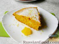 Фото к рецепту: Тыквенный пирог с цедрой лимона