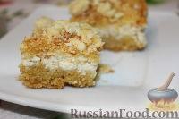 Фото приготовления рецепта: Деревенский творожный пирог из песочной крошки - шаг №13