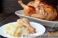 Фото приготовления рецепта: Курица, фаршированная рисом - шаг №13