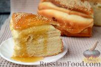 Фото к рецепту: Арабская лепешка с кунжутом