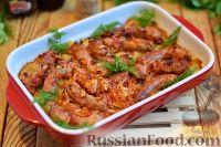 Фото к рецепту: Куриные шейки с картошкой