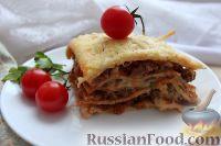 Фото к рецепту: Лазанья из блинов