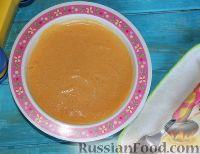 """Фото к рецепту: Детский суп-пюре """"Оранжевая радость"""" с тыквой и молоком"""