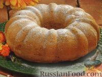 Фото к рецепту: Кекс с консервированной грушей (из готовой смеси для кексов)