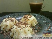 Фото к рецепту: Паровой рисовый пудинг