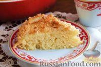 Фото к рецепту: Датский кокосовый пирог