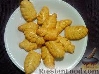 Фото к рецепту: Печенье песочное «Листики»