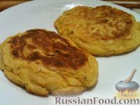 Фото к рецепту: Котлеты из тыквы с картофелем