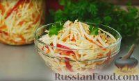 Фото к рецепту: Быстрая маринованная капуста