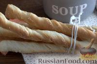 """Фото к рецепту: Хлебные палочки """"Гриссини"""""""