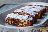 Фото к рецепту: Панфорте (итальянский рождественский пирог)