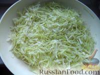 Фото к рецепту: Капуста квашеная шинкованная