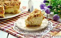 Фото к рецепту: Творожный пирог с хрустящей корочкой