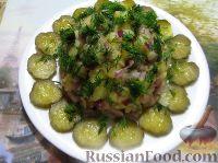 Фото к рецепту: Салат из картофеля и сельди