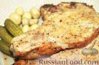Фото к рецепту: Сочный челогач, запеченный в духовке