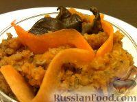Фото к рецепту: Тыквенная икра с грибами