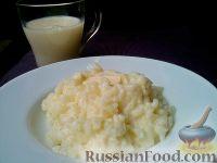 Фото к рецепту: Рисовая каша молочная
