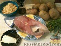 Фото приготовления рецепта: Картофель, запеченный с рыбой - шаг №1
