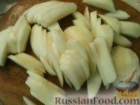 Фото приготовления рецепта: Картофель, запеченный с рыбой - шаг №2