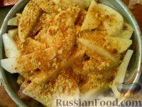Фото приготовления рецепта: Картофель, запеченный с рыбой - шаг №6