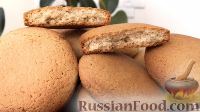 Фото к рецепту: Домашнее овсяное печенье