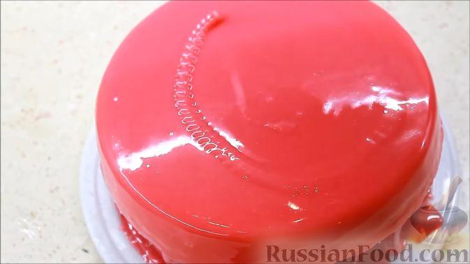 Зеркальная цветная глазурь рецепт с пошагово в